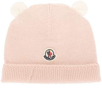 Moncler knitted ribbed hat