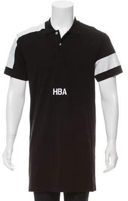 Hood by Air Logline Logo Polo Shirt