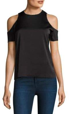 Cooper & Ella Emmy Cold-Shoulder Blouse