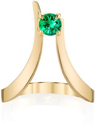 Ark Emerald Blooming Lotus Ring
