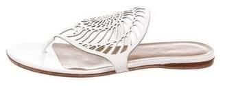 Hermes Nautilus Laser Cut Thong Sandals