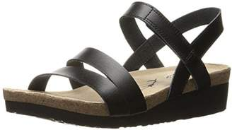Skechers Women's Troos Simply Effortless Wedge Sandal $55 thestylecure.com