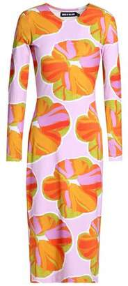 House of Holland Printed Cotton-Jersey Dress