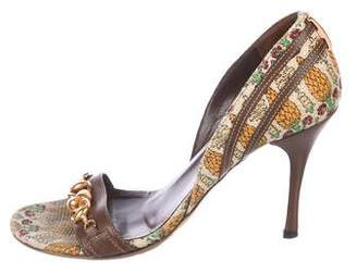 Gucci Horsebit d'Orsay Sandals