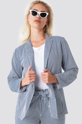 Rut & Circle Rut&Circle Firo Striped Blazer Blue/White Stripe