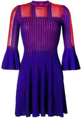 Versace short-sleeve knitted dress