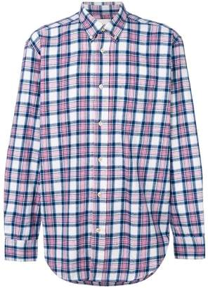 Our Legacy long-sleeved checked shirt