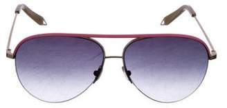 Victoria Beckham Cat2 Aviator Sunglasses