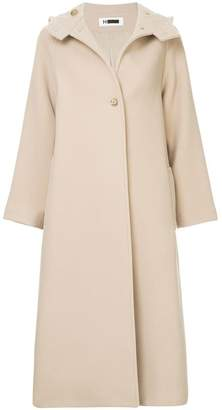 H Beauty&Youth oversized hooded coat