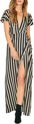 Amuse Society Fit to Be Tied Maxi Dress