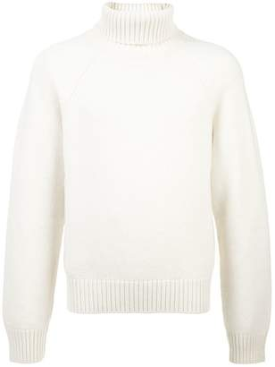 Holiday chunky turtle neck jumper