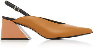 YUUL YIE Exclusive Slingback Leather Pump