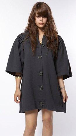 Juliana Jabour Granite Swing Coat