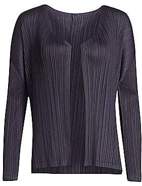 Pleats Please Issey Miyake Women's Monthly Colors August Jacket