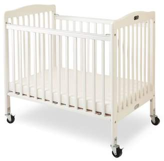 L.A. Baby Folding Wooden Compact Crib