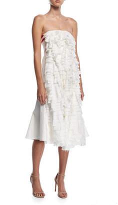 DAY Birger et Mikkelsen Maggie Marilyn One Sunny Strapless Cotton Dress