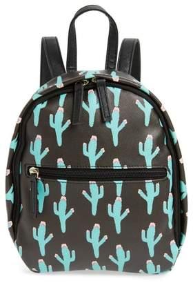 DEB & DAVE ACCESSORIES Cactus Print Mini Backpack