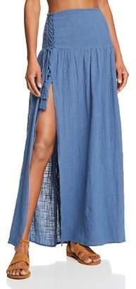 Surf Gypsy Gauzy Maxi Skirt Swim Cover-Up