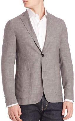 Pal Zileri Slim Fit Wool, Linen, & Silk-Blend Sport Coat