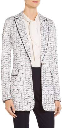 St. John Adina Tweed Knit Jacket