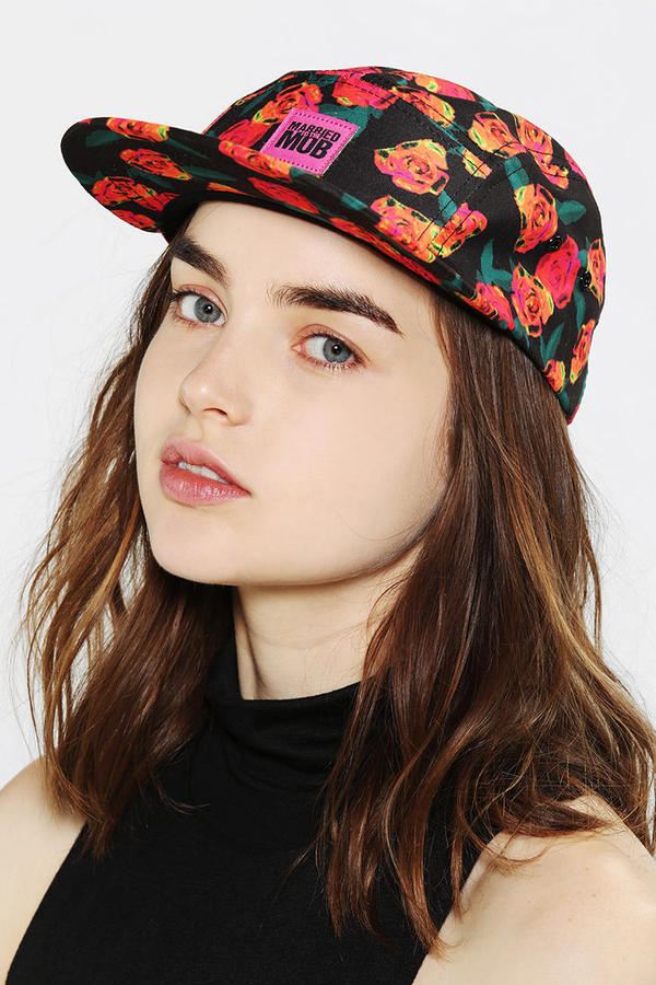 Urban Outfitters Married To The Mob Floral Hat