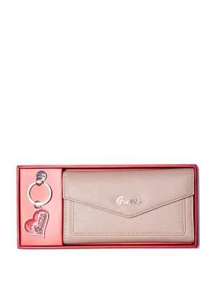 Factory GUESS Women's Sullivan Wallet Gift Set