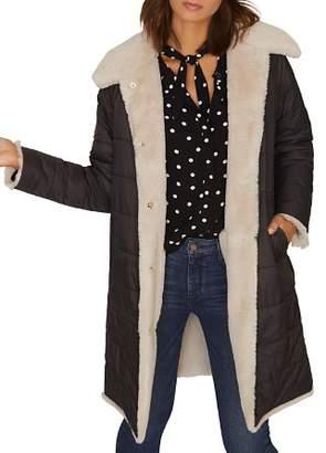 Sanctuary Reversible Puffer Coat