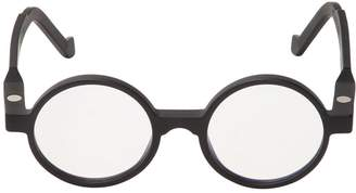 Va Va Optical Matte Round Acetate Glasses