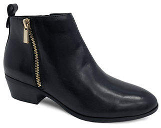 HBC AVERY & SAGE Erin Leather Booties