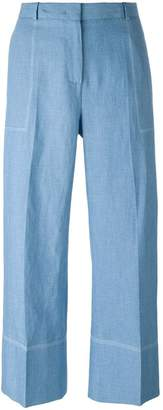 Ermanno Scervino wide-legged cropped trousers