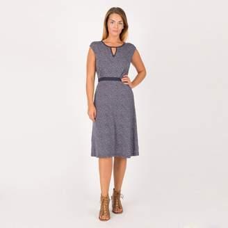 Anna Field Dark Blue Dot Print Jersey Dress