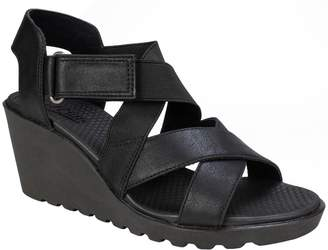 White Mountain Cliffs by Wedge Heel Sandals - Esther