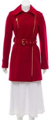 MICHAEL Michael Kors Belted Short Coat