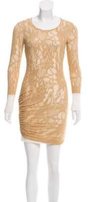 A.L.C. Open Knit Mini Dress