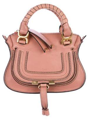 Chloé Leather Mini Marcie Bag