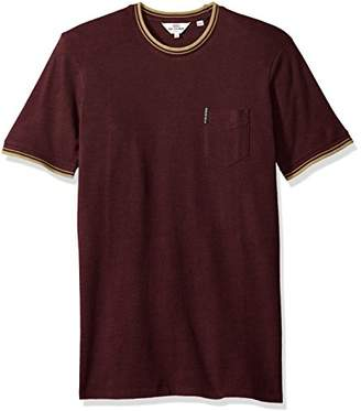 Ben Sherman Men's Pique Textured Short Sleeve T-Shirt