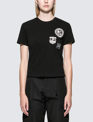 Hyein Seo Embroidered Patch T-Shirt