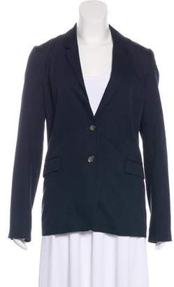Closed Lightweight Button-Up Blazer