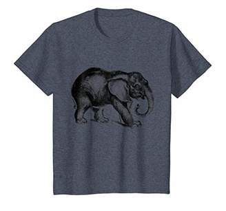 Happy Jungle Elephant Print T-Shirt