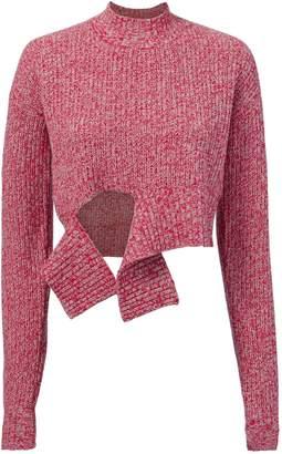Zoe Jordan Foreman Tie Front Sweater