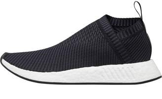 adidas NMD_CS2 Primeknit Trainers Core Black/Carbon/Red Solid