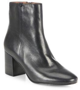Frye Jodi Leather Block-Heel Booties $398 thestylecure.com