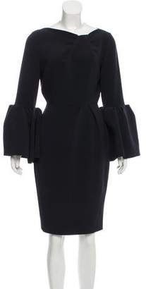 Roksanda Long Sleeve Midi Dress
