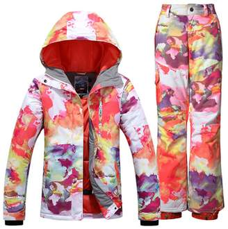 GS SNOWING Women s Snowboard Suit Ski Jacket a2cab0fa9