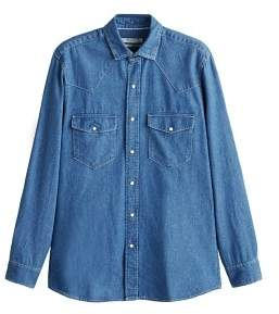 Mango man MANGO MAN Slim-fit denim shirt
