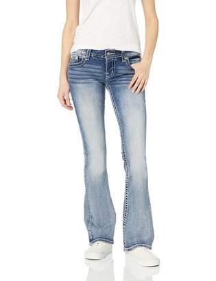 Miss Me Women's Low Rise Chloe Boot Cut Jeans