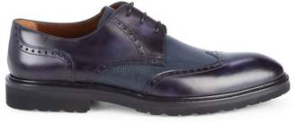a. testoni Royal Leather Derbys