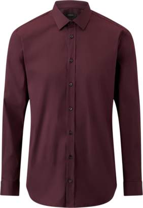 Jim Poplin Stretch Shirt