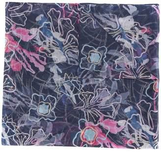 Giorgio Armani floral print scarf