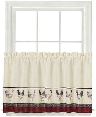 Saturday Knight French Country Rod-Pocket Window Tiers